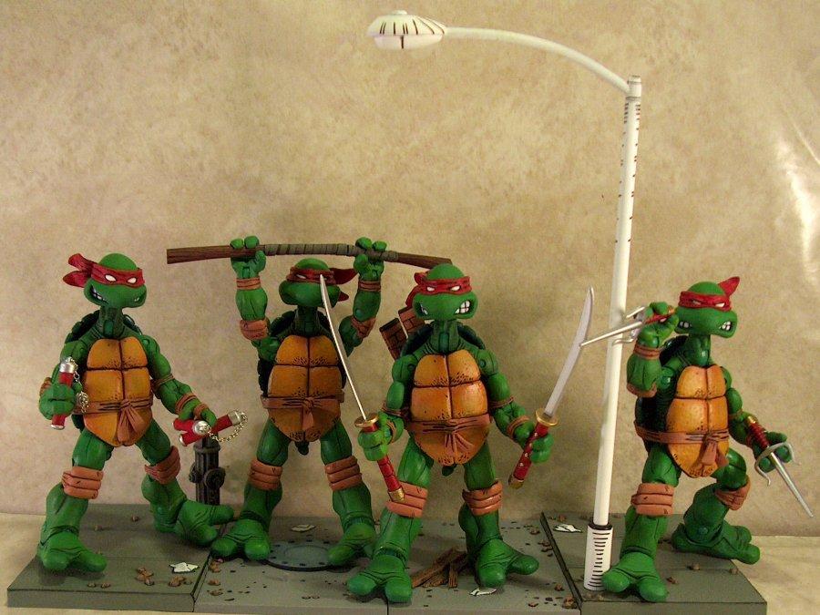 Neca S Teenage Mutant Ninja Turtle Action Figures