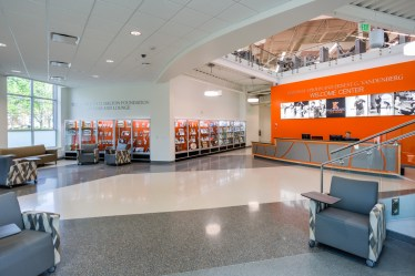 Kalamazoo College - Interior 1