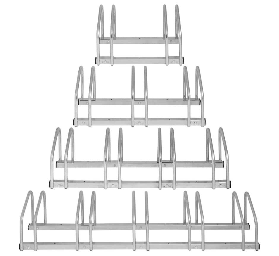 bike rack floor or wall mount