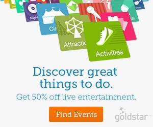 GoldStar has Half Price Tickets