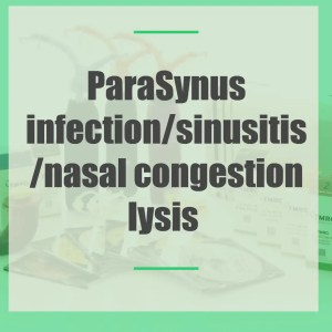 Synus infection/sinusitis/nasal congestion