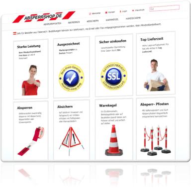 Absperrshop.de – Absperrprodukte und Absicherungsprodukte günstig kaufen