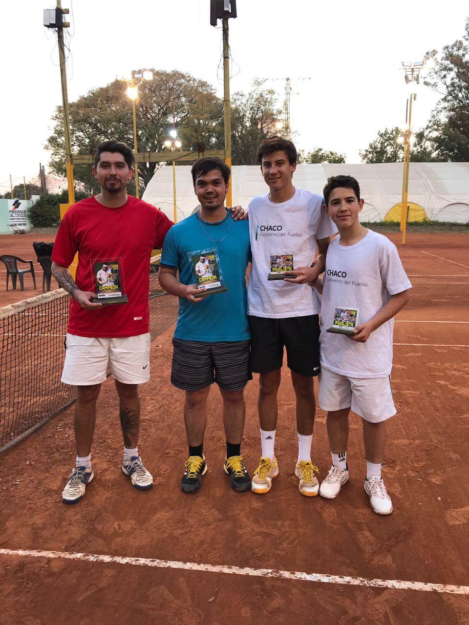 Circuito Tenis : Cuarto torneo del circuito tenis cune 2018