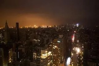 Electrical outage during Sandy
