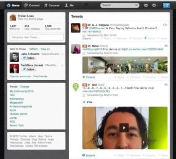 Twitter in 2013
