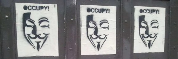 Anonymous takes to the streets