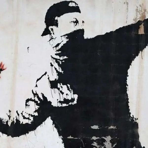 Banksy Non Violence