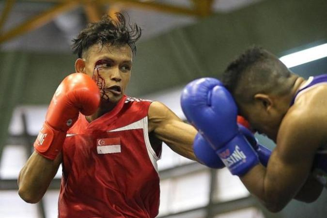National boxer Solihin ready to pack a punch at SEA Games  Latest     National boxer Solihin ready to pack a punch at SEA Games
