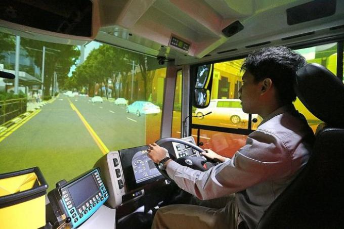 Smrt Opens Bus Driver Training Centre Latest Singapore News The New Paper