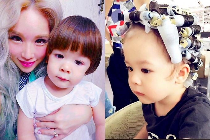 Blogger Xiaxue Causes Stir With Toddler Sons Hair Perm