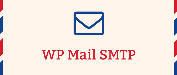 SMTP wordpress