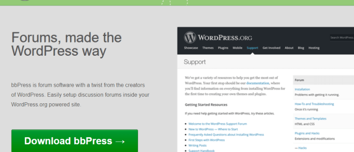 Forum in Wordpress