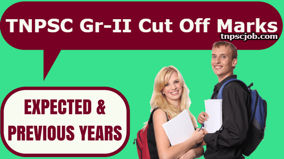 TNPSC Group 2 Cut Off Marks 2018