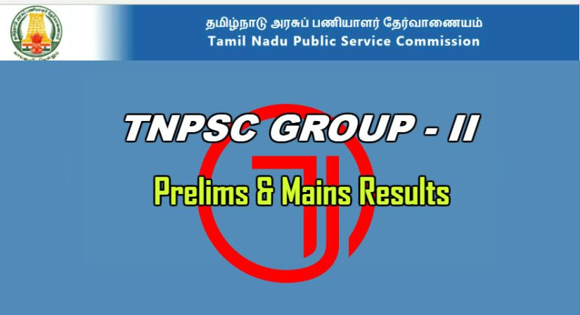 TNPSC Group 2 Result and Counseling Details
