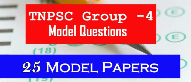 Tnpsc Group 4 Model Question Paper 2014 Pdf