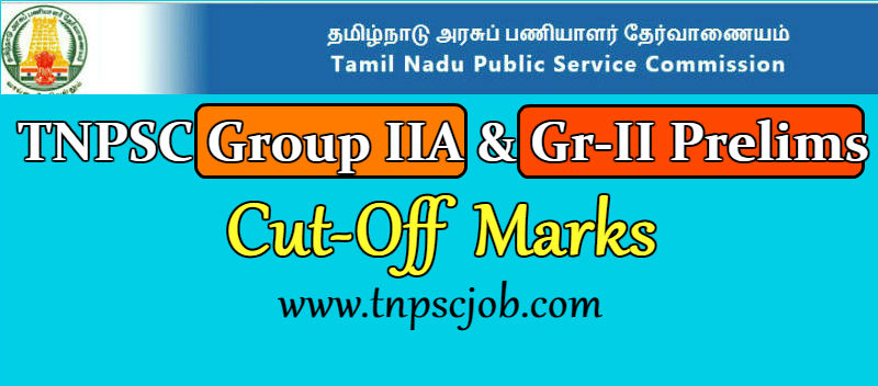 Expected TNPSC Group 2A Cut Off Marks 2019