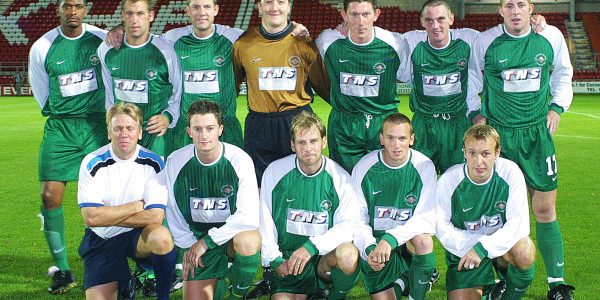 TNS V Polonia Warszaw UEFA Cup Qualifying Round 2nd Leg.