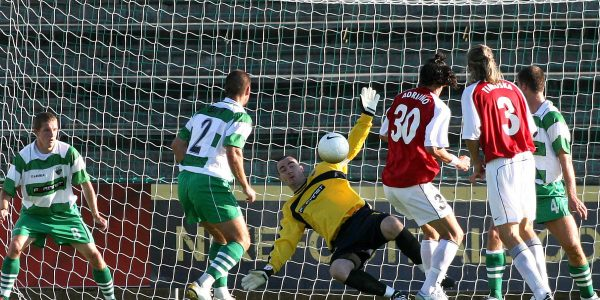 MyPa-47 v TNS European Champions League Qualifier 1st leg 1-0 to Mypa-47