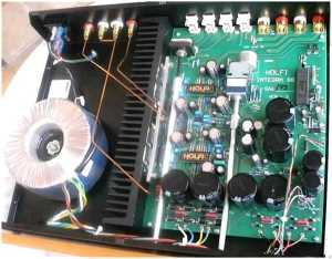 Holfi Integra 88 SE amplifier [English]