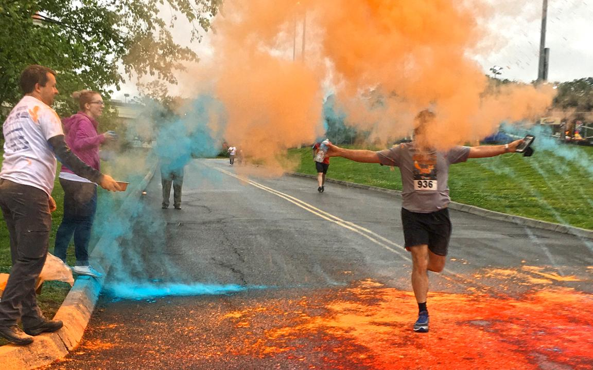 Color Me Mutt 5K Color Run In Sevierville TN Tennessee