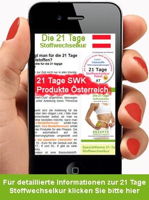 21 Tage Stoffwechselkur Paket Österreich preiswert