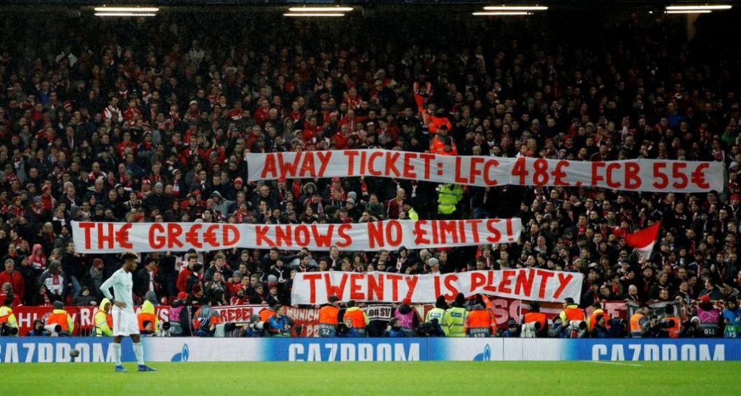 Οπαδοί Μπάγερν για τις τιμές των εισιτηρίων: «Η απληστία δεν έχει όρια» (pics) | to10.gr