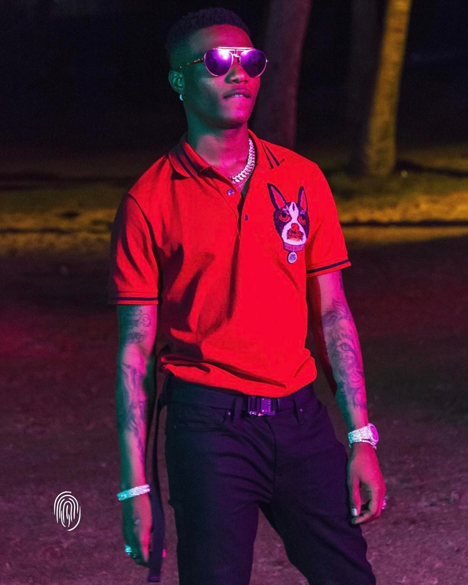 Watch - Wizkid And Alex Iwobi Launches The 2018 World Cup Official Jersey Of Nigerian National Soccer Team