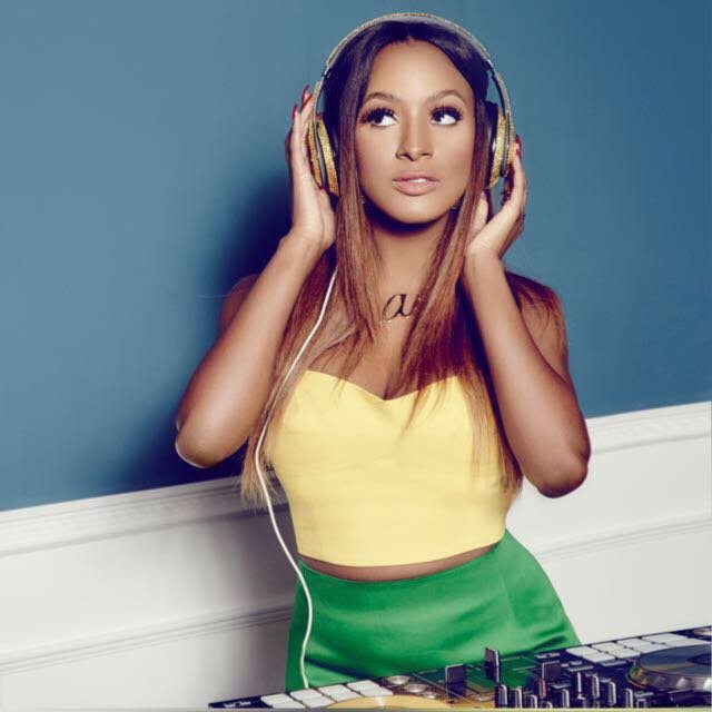 DJ Cuppy Giving The President Of France & President Of Senegal Disc Jockeying Lessons || WATCH