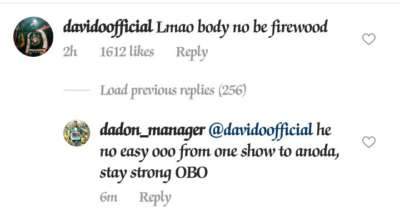 Davido Reacts To Video Of His Clumsily Fall On Stage || WATCH