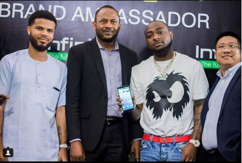 Davido Signs Endorsement Deal With Infinix Mobile