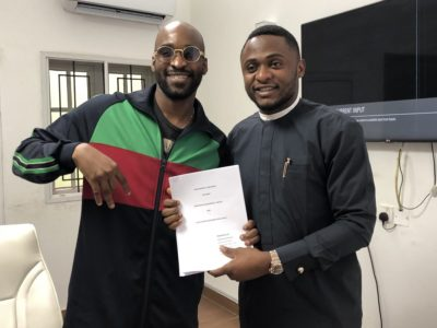 Son of Nigerian Minister of State for Petroleum Resources, Kach has signed a record deal with MMMG