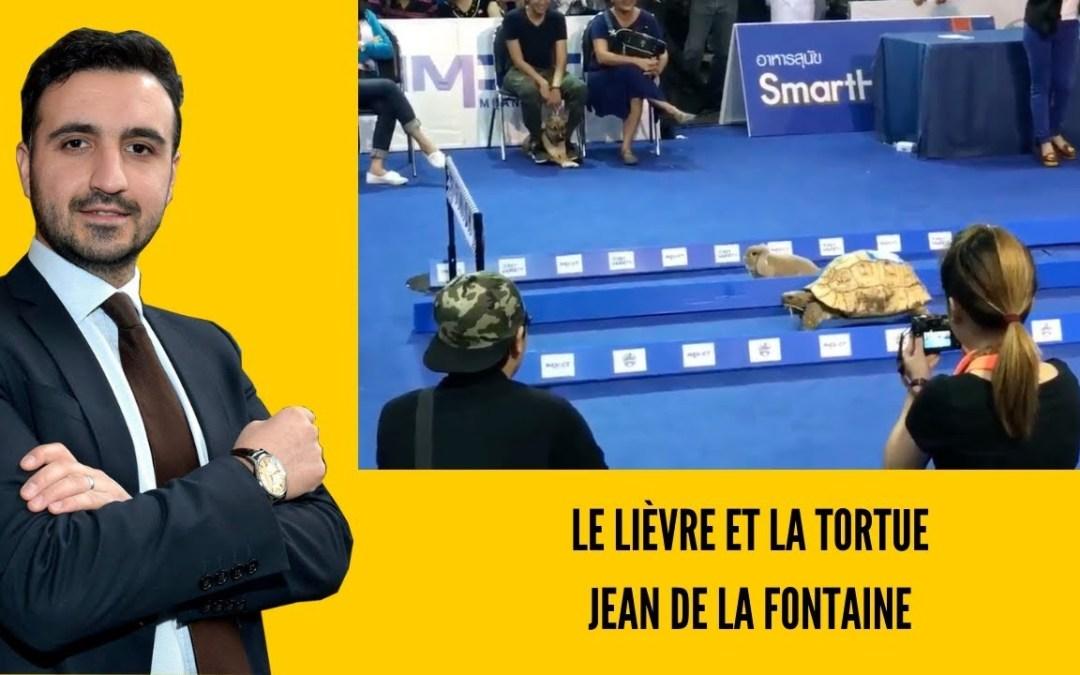 le lièvre et la tortue – Jean de la Fontaine