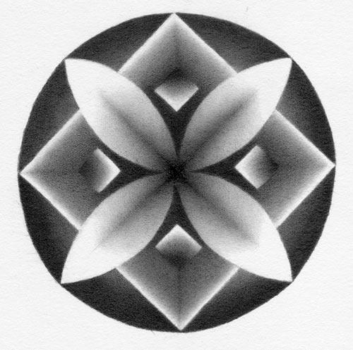 Shaded Mandala Drawing Exercise Part One Carol S Drawing Blog