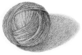 how to draw wool ball