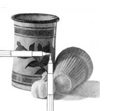 Finding midpoint in still life C. Rosinski