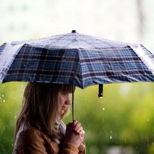 Girl Under an Umbrella