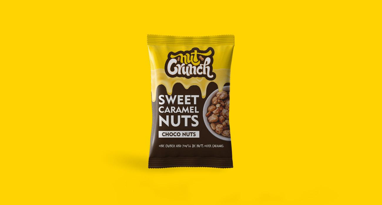 Nut Crunch Sweet Caramel Nuts