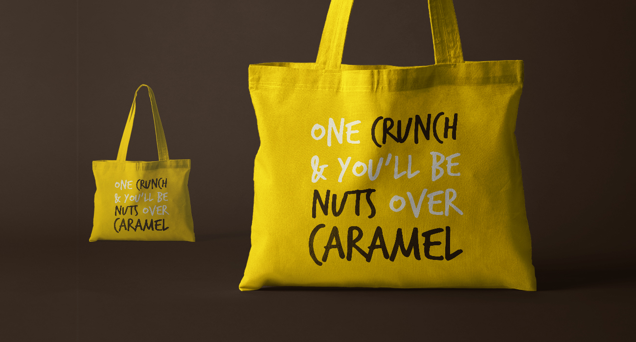 Nut Crunch Tote Bags