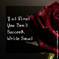 If at First You Don't Succeed, Write Smut