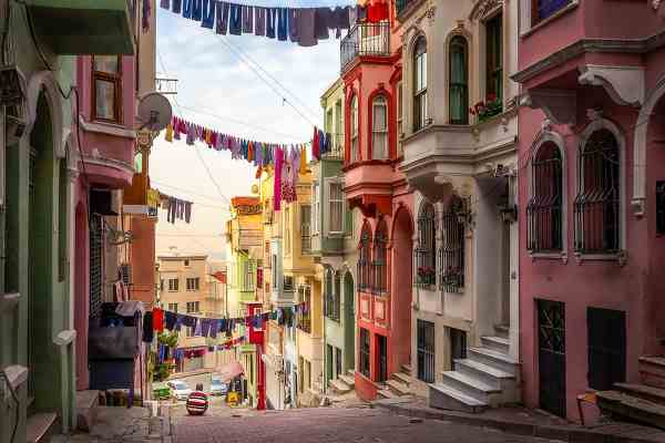Early Morning In Istanbul Art Photography Print