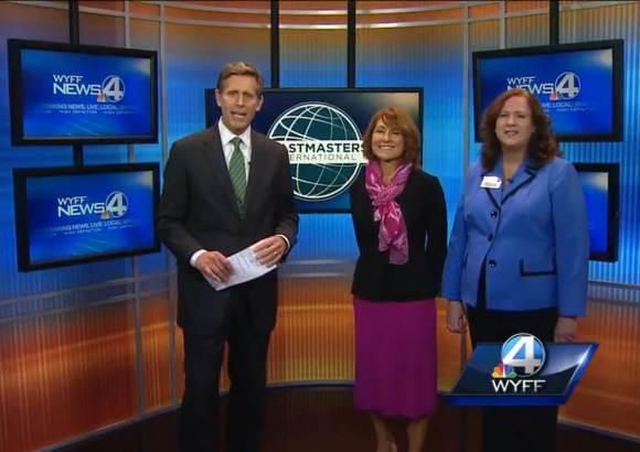 Dana Swarner & Sharon Durgin interviewed by Geoff Hart, WYFF Greenville SC