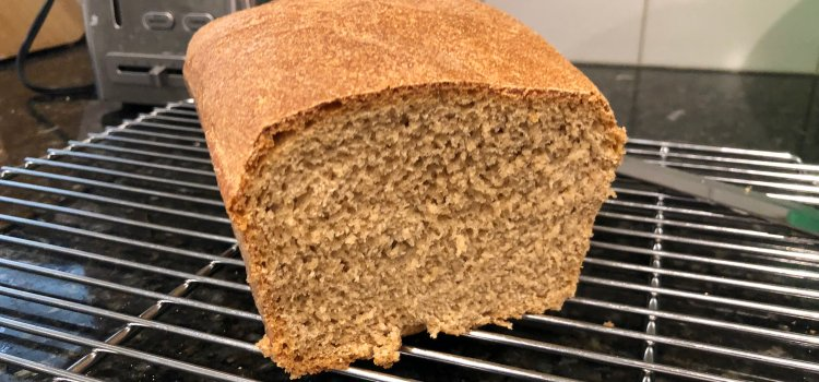 Three Ingredient Whole Wheat Sourdough Bread Recipe: Nutritious and Delicious