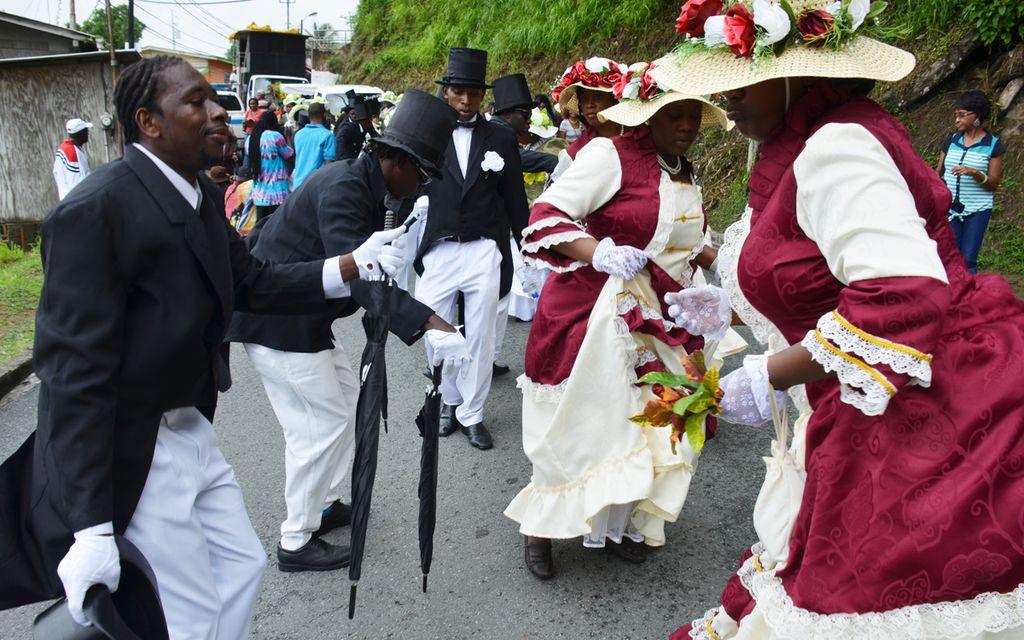 Moriah Tobago Ole Time Wedding Ceremony - Tobago Heritage