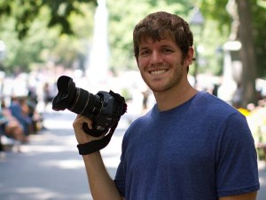 This handsome fella is the brains and man behind the camera for HONY.