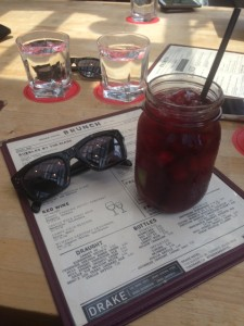 Simple Needs: Brunch and Sangria.