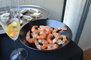 Shrimp and Champagne