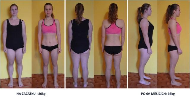 Proměna markéty, která shodila 14kg za 6 měsíců