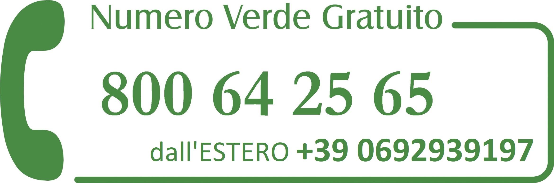 Numero Verde 800642565