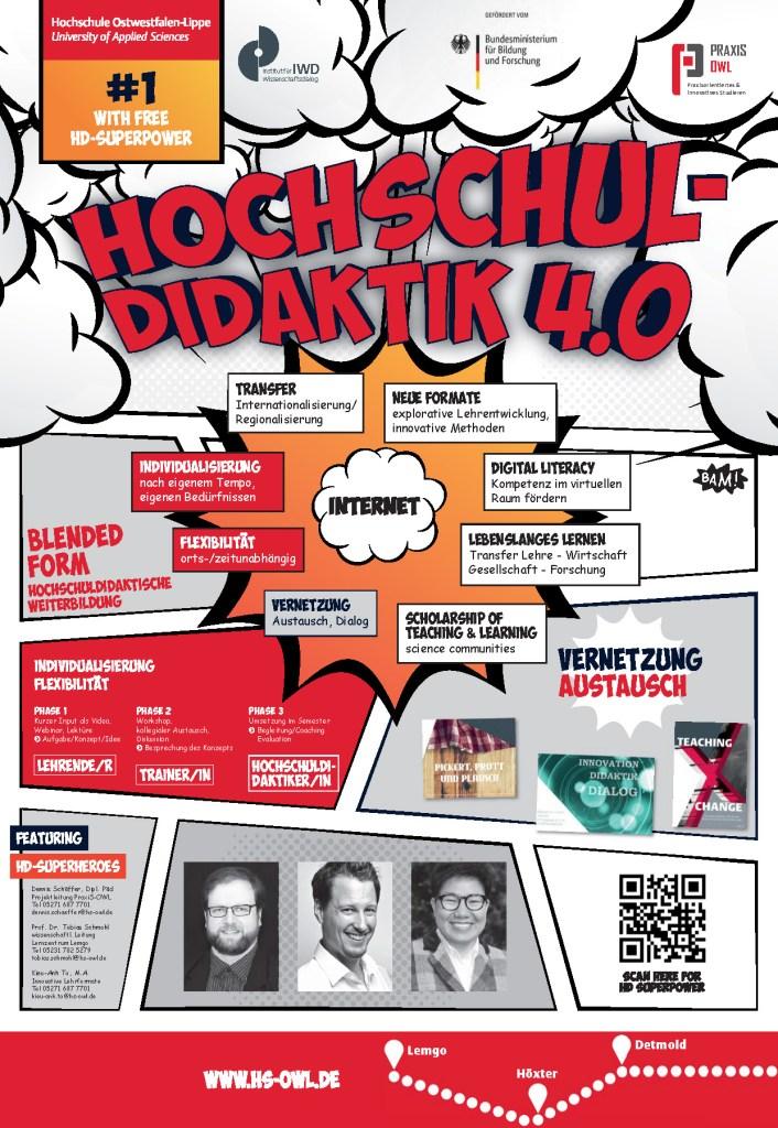 Poster: Flipped Hochschuldidaktik