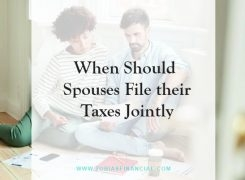 When Should Spouses File their Taxes Jointly?